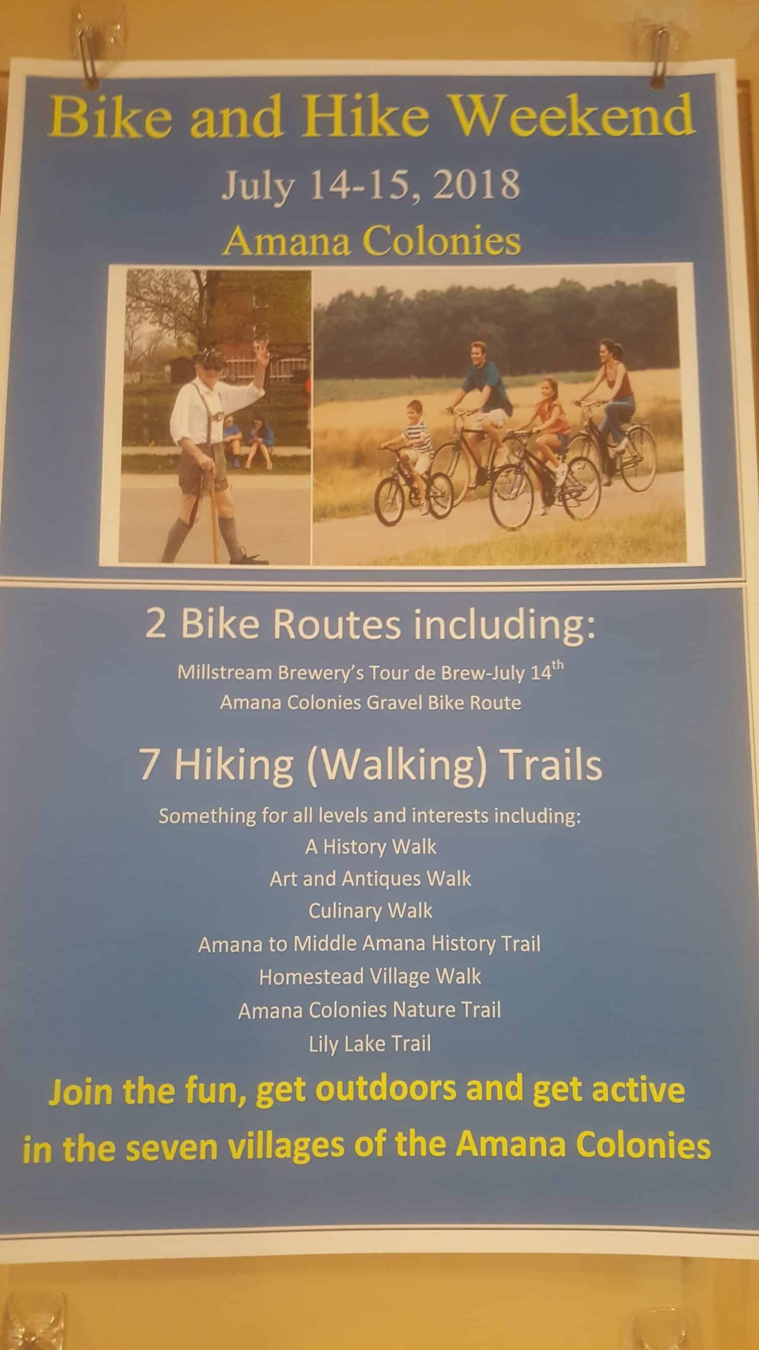Bike and Hike poster