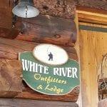 White River B&B sign