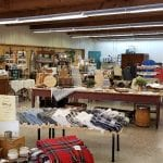 inside of woolen mill