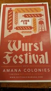 Wurstfest poster