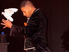 Magician David Casas
