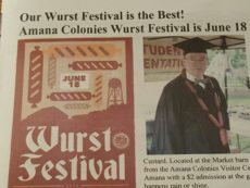 newspaper wurstfest