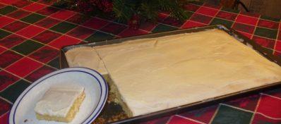 Ginger's Almond Cake