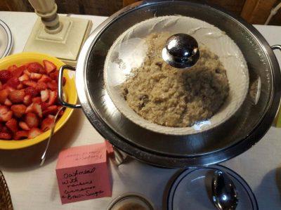 Zuber's breakfast oatmeal