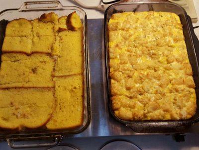 Zuber's Breakfast casseroles