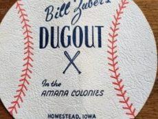 Baseball menu