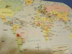 World guest map