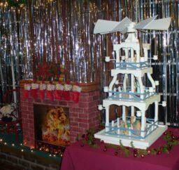 small pyramid Christmas decoration