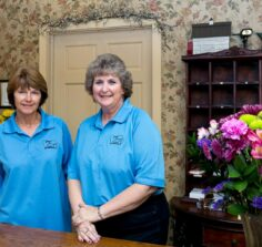 Innkeeper Bonnie and staff