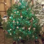 decorated green tree