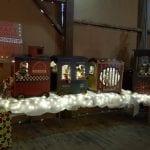 large train Christmas decoration