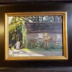 Painting of wash shed